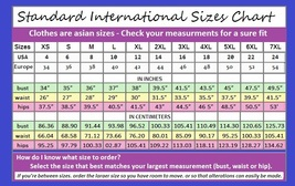 Standard interntional sizes chart thumb200