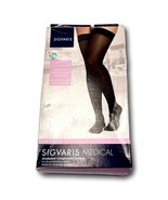 ​SIGVARIS Neutral Closed Toe Medical Stockings Size LS 752NLSW33 20-30mm... - $49.99