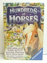 Hundreds of Horses Ravensburger Story Card Board Game Guess Match Kid Gift NEW - $39.59