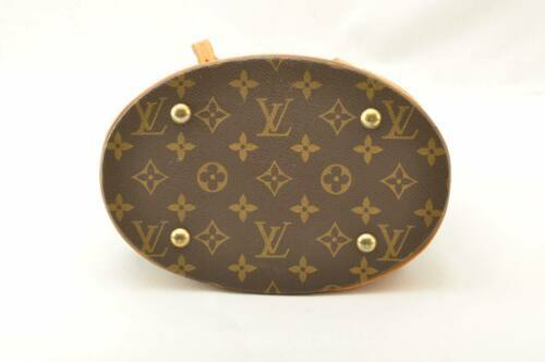LOUIS VUITTON Monogram Bucket PM Shoulder Bag M42238 LV Auth sa2271 **Sticky image 9