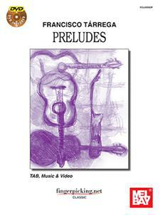 Francisco Terrega Preludes/Book w/DVD