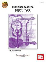 Francisco Terrega Preludes/Book w/DVD  - $24.99