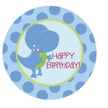 Dinosaur Roar {T-rex} Edible Cake Topper Decoration - €7,11 EUR