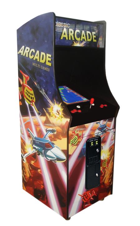 Ms. Pac-Man, Galaga, Pac-Man Upright Arcade Machine