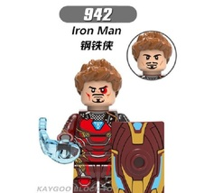 Sale Super Hero Armored Iron Man 942 Building Block Brick Figures For Ch... - $0.90