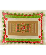 Christmas Candy Cane Sampler cross stitch chart Cherry Hill Stitchery - $7.20