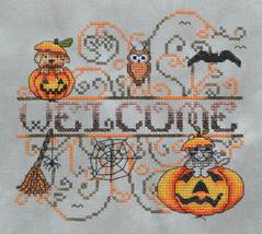 Pumpkin Patch Critters fall cross stitch chart MarNic Designs  - $6.30