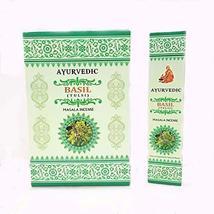 ABN Fashion Ayurvedic Basil Sticks Incense Natural Fragrance Hand Rolled... - $8.41