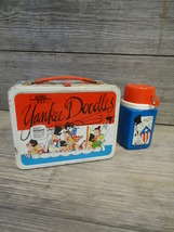 Vintage Yankee Doodles Lunchbox King Seely Thermos 1975 - $58.50