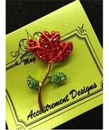 Glamorous Rose Red Magnet Mag Friends Needle Mi... - $12.60