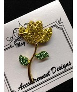 Glamorous Rose Yellow Magnet Mag Friends Needle... - $12.60