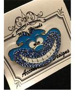 Monster Cheshire Cat Blue Magnet Needle Minder ... - $14.40