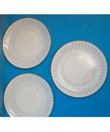 "Royal Doulton DEBUT England Bone China Bread Plates 6.25"" Lot of 3 - $31.50"