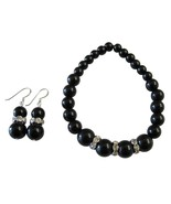 Handmade Stretchable Black Pearl Bracelet Match... - $14.03