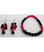 Stunning Stretchable Bracelet Grape Earrings Ma... - $12.08