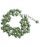 Kelly Green Wedding Bridesmai Bracelet Jewelry ... - $14.68
