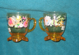 Two Disney Store Fairies and Tinkerbell Glitter Plastic Cups. Brand New. - $14.84