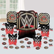 amscan WWE 3D Cardstock Decorating Kit - 27pc, One Size - $12.82