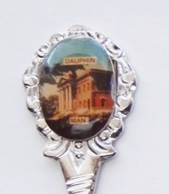 Collector Souvenir Spoon Canada Manitoba Dauphin Court House Law Courts ... - $3.95