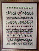 "Cross Stitch Sampler Leaflet ""An Heirloom Treasure""  - $5.00"