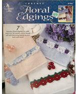 "Crochet Pattern Booklet ""Floral Edgings""  - $3.99"