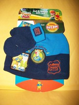 Disney Baby Clothes Toddler Winnie the Pooh Winter Mitten Set Hat Gift B... - $12.34