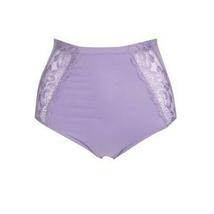 Rhonda Shear Single Seamless Lace Brief in Lilac, XL (605377) - $11.87