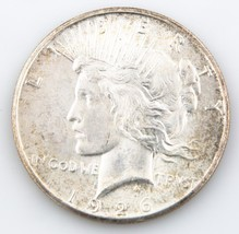 1926-S $1 Peace Dollar, BU Condition, Excellent Eye Appeal, Full Mint Luster - $117.81