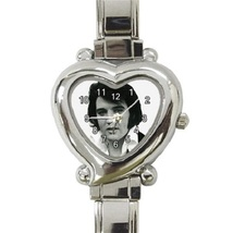 Ladies Heart Italian Charm Watch Elvis Presley Gift model 37625525 - $11.99