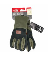 New The North Face Men's Fleece Patch Glove Green Black U|R Powered Touc... - $34.99