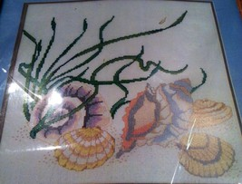 "Something Special Shell Picture Counted Cross Stitch Kit 12""x12"" - $34.65"