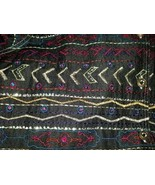 BOHO Gypsy Tribal Embroidered Denim Jeans Jacket 1X Jewel Buttons UNITS ... - $49.01