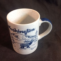 Washington State Mug Blue Gray Coffee Cup - $29.21