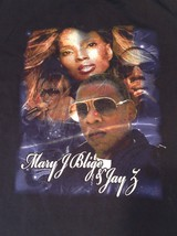 """Large 2008 MARY J BLIGE & JAY Z Heart of the City Tour 16"""" x 10"""" Graphic T-shirt - $23.27"""