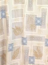 Hilo Hattie 100% Plumeria Palm Tree Patchwork Tapa Print Hawaiian Mens L... - $39.11