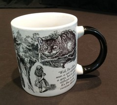 2005 Alice in Wonderland Mug Grinning Cheshire Cat Most Curious Thing In... - $24.26