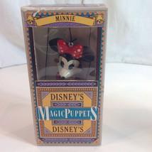 Disneys Magic Puppets Retro Minnie Mouse in Box... - $34.16