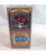 Disneys Magic Puppets Retro Minnie Mouse in Box Marionette Walt Disney - $34.16