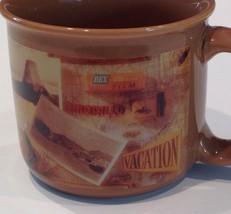 USA Summer Vacation Road Trip Railroad Railway American Landmark Mug Hal... - $24.26