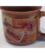 USA Summer Vacation Road Trip Railroad Railway American Landmark Mug Hallmark - $24.26