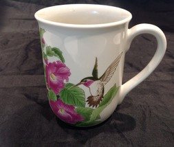 Otagiri Humming Bird in Flight Hibiscus Japan Mug Design Gibson Greeting... - $24.26