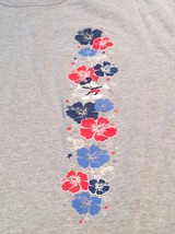 Disney Co Cast Exc Mickey Mouse Hawaiian T-Shirt Hibiscus Mens XL Red Wh... - $38.61
