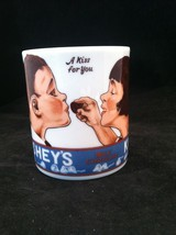 1979 Hersheys Kisses Milk Chocolate Mug A Kiss For You Cup Kids Feeding ... - $24.26