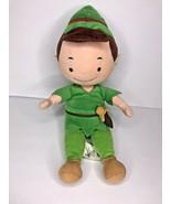 "Disney Peter Pan Babies Soft Plush Green Stuffed Doll 12"" - $43.44"