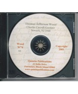 CD: The Ancestry of Thomas Jefferson Wood - $5.00