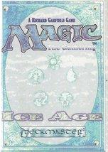 MTG Magic The Gathering Ice Age Rulebook - 1995 - $3.99