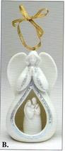 Angel / Holy Family - Illuminates - Ornament - 61334