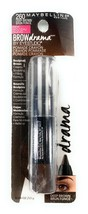 Maybelline Brow Drama By EyeStudio Pomade Crayon #260 Deep Brown .04 oz - $6.92