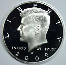 2009 S Kennedy silver proof half dollar - $22.00