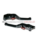 Suzuki GSXR 1000 2007 2008 Adjustable Shorty Brake Clutch Lever Parts Black - $49.45